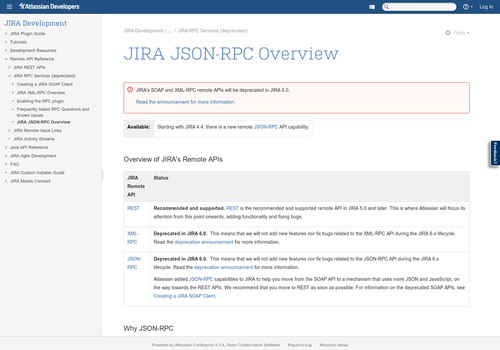 jira json-rpc screenshot